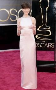 Anne Hathaway en Prada