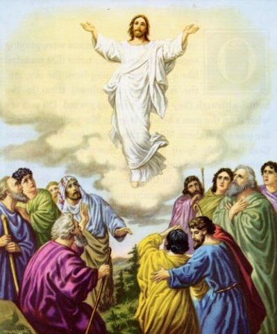 Resultado de imagen de cristo subio al cielo