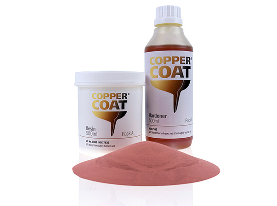Coppercoat anti-fouling paint