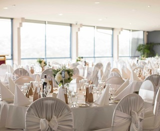 Our Wedding Reception Room Overlooks the Beach. Located at Northern Beaches, Mona Vale
