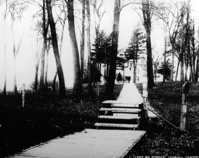 photo of Boardwalk to President's House