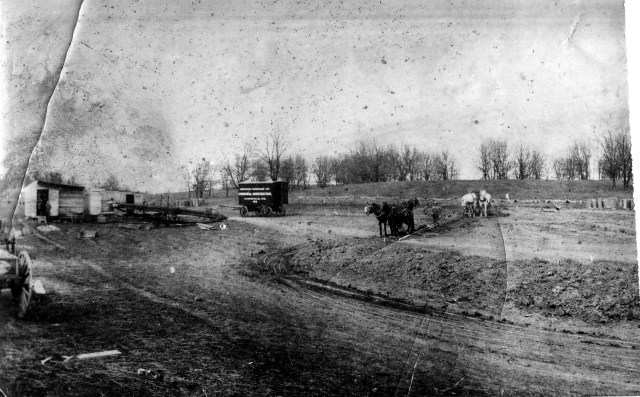 Constructing the Interurban Railroad