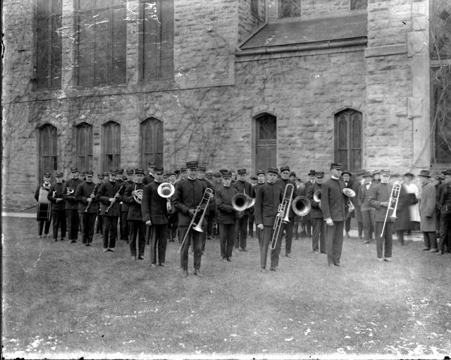 photo of Cornell Band