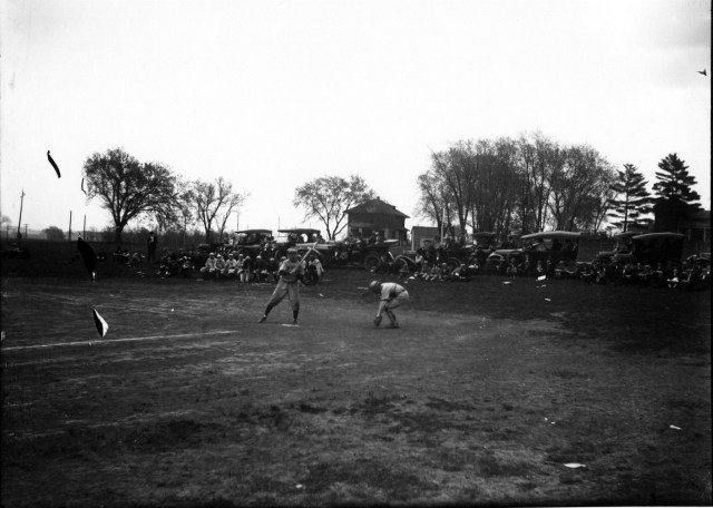 photo of Cornell Baseball Game