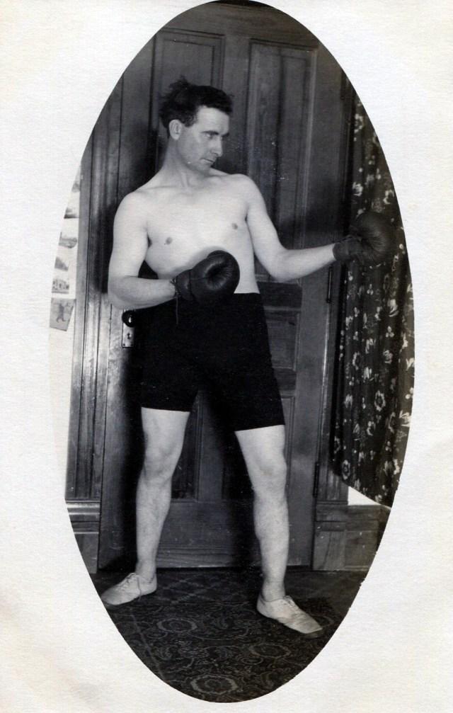 photo of Cornell Boxer Postcard