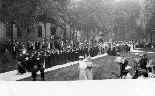 photo of Cornell Graduation