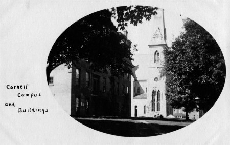 photo of King Chapel and Old Sem