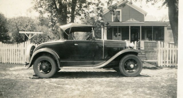 photo of Model A Ford 1930