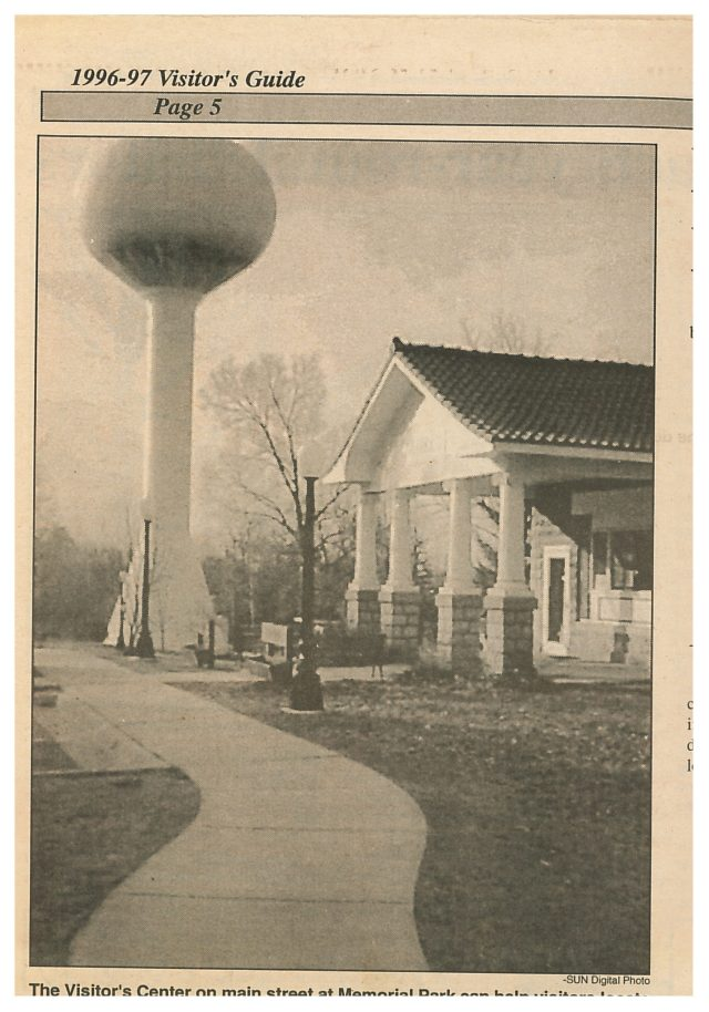 photo of Mount Vernon Visitor's Center and Water tower