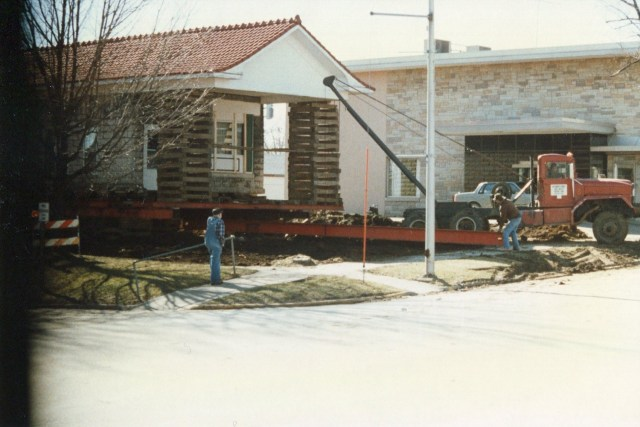 photo of Moving the Visitors Center