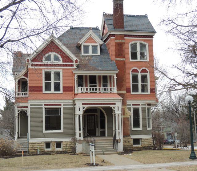 Photo of Platner House. Photo taken 2017.