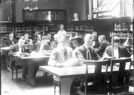 photo of Reading Room in Carnegie Library