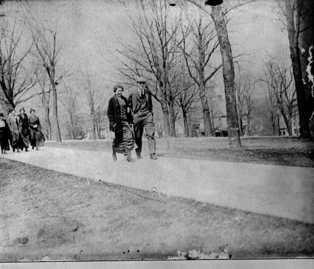 photo of Students Walking on the Cornell Campus