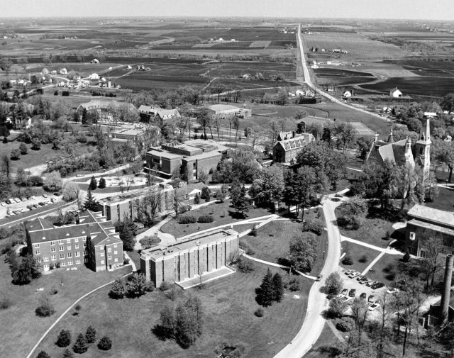 photo of Tri Hall Aerial