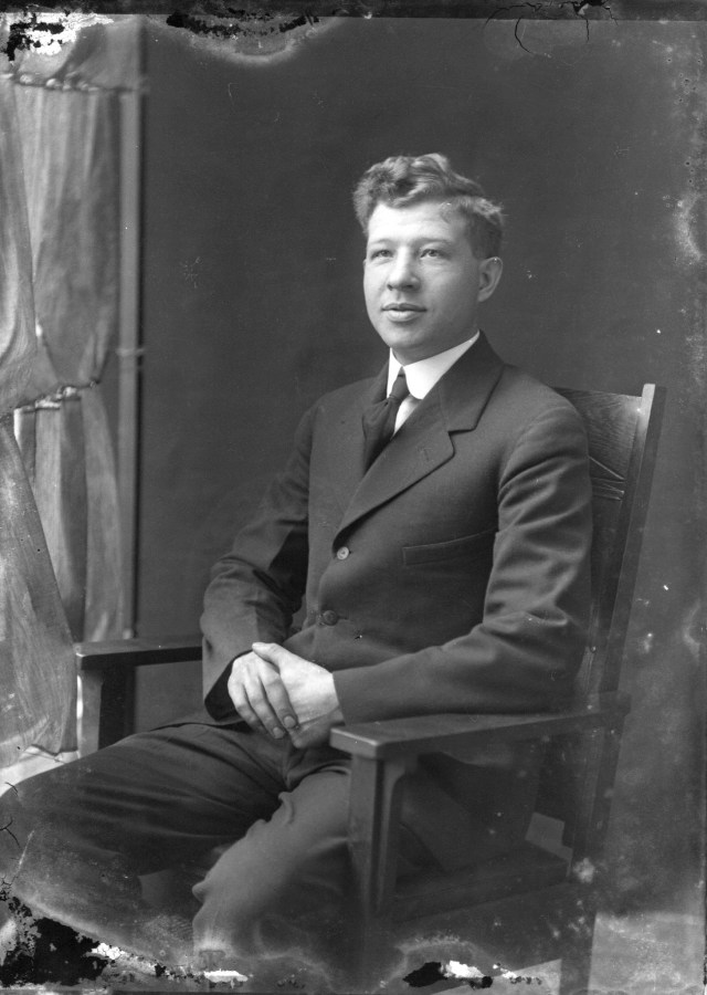 Unidentified Cornell Student-1910