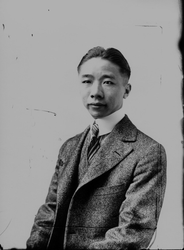 photo of Unidentified Cornell Student-1915