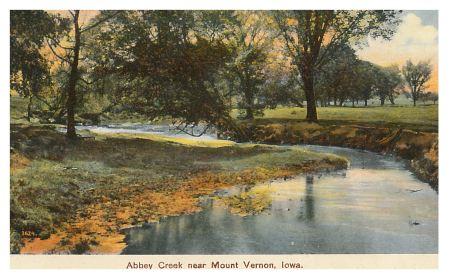 photo of Abbey Creek Postcard
