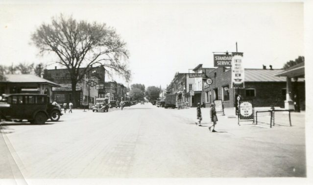 photo of Downtown Mount Vernon-1930