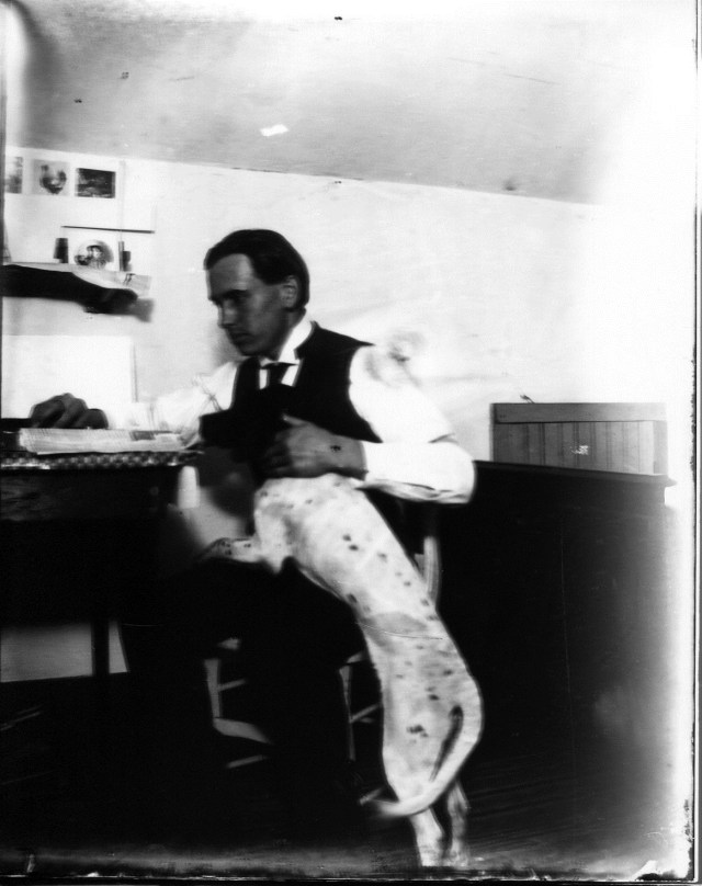 photo of Man and His Dog