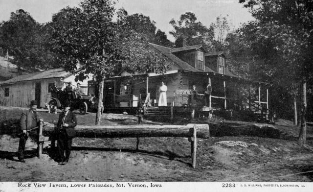 Photo of Rock View Tavern, Lower Palisades, Mt. Vernon, Iowa