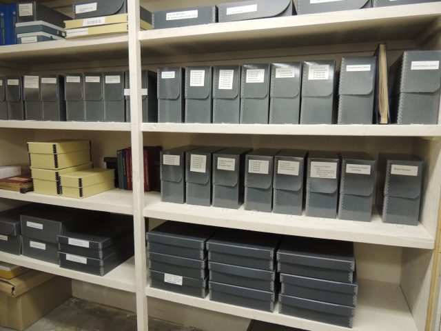 Photo of MVHPC Archives in City Hall