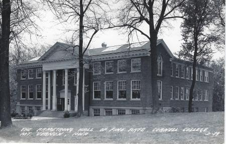 Photo of Armstrong Hall Postcard