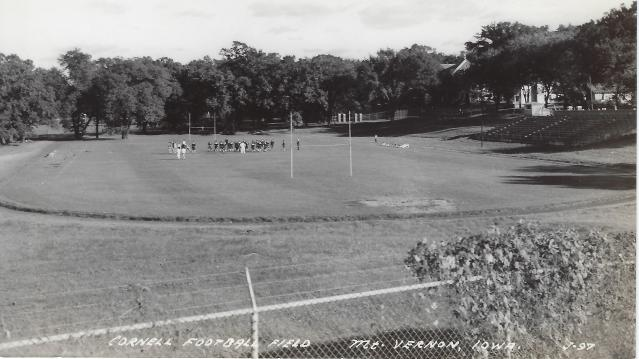 Photo of Cornell Football Field Postcard