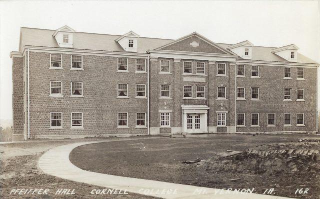 Photo of Pheiffer Hall postcard