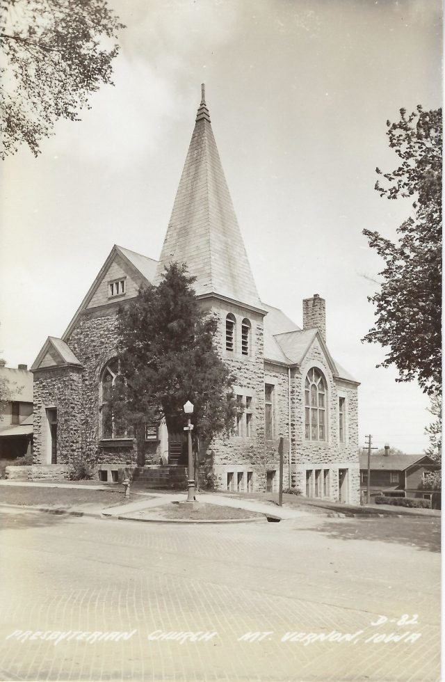 Photo of Presbyterian Church postcard