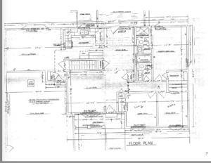 Photo of the Floor Plan original