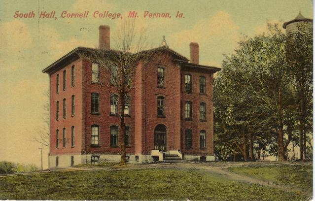 Photo of South Hall Postcard