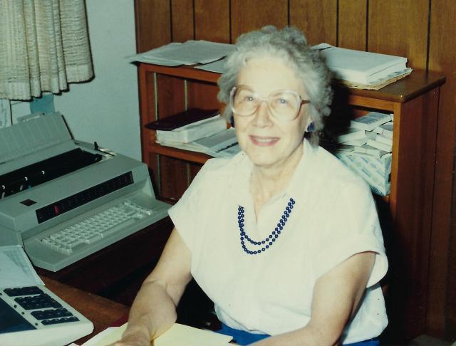 Photo of Joan Siggins