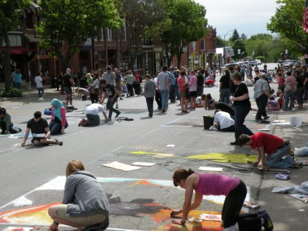 Photo of Chalk the Walk-2010
