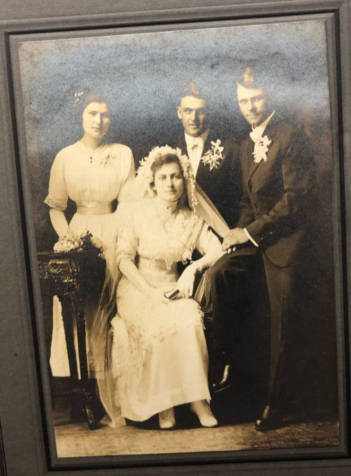 Photo of Blanche & Wesley Crofter's wedding day