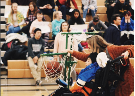 Spartan Buddies hosts Basketball Game for students with disabilities