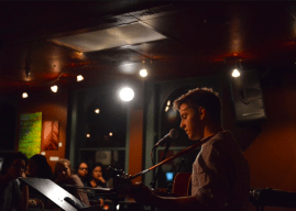 Open mic night showcases student talent