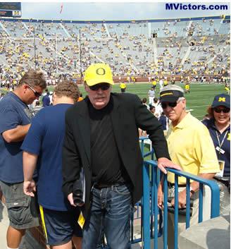 Phil Knight at Michigan game