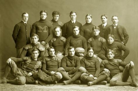 1901 Michigan Team Photo