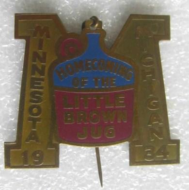 1934 Little Brown Jug Pin