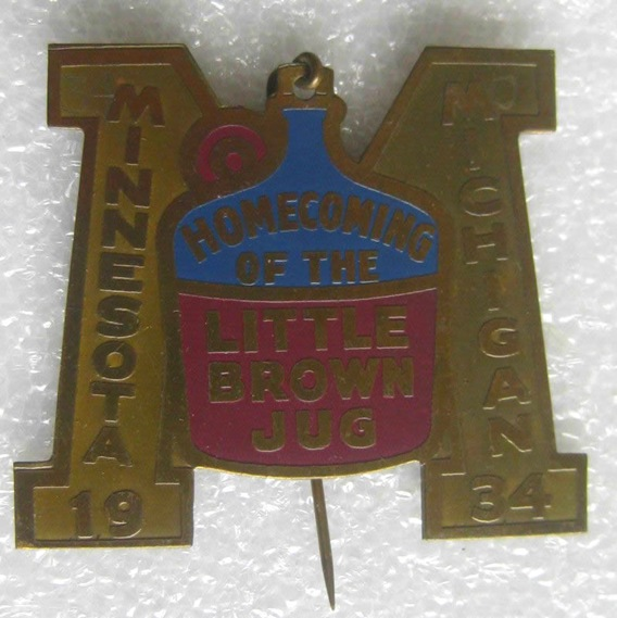 1934 Little Brown Jug Pin
