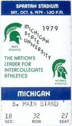 1979 Michigan State Game