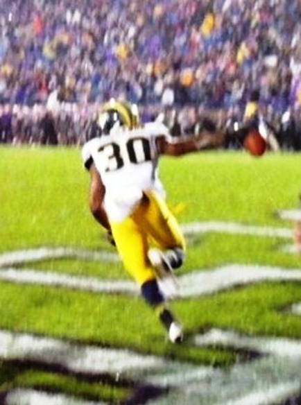 Thomas Gordon interception - Northwestern