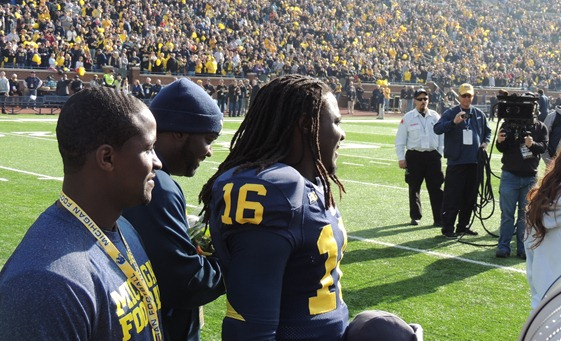A photo of Denard Robinson no one will ever copy