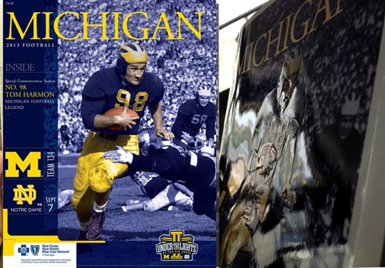 2013 Michigan Notre Dame program