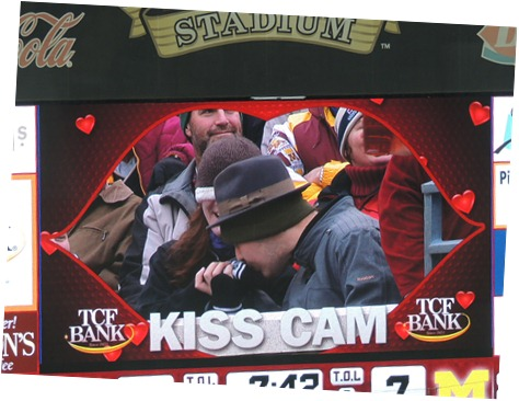 Minnesota Kiss Cam Epic Fail