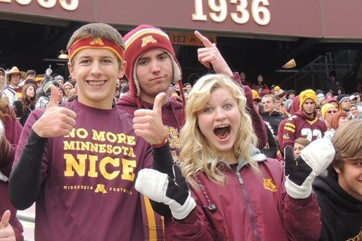 """No More Minnesota Nice"" T-Shirt and Mandy Pepperidge"