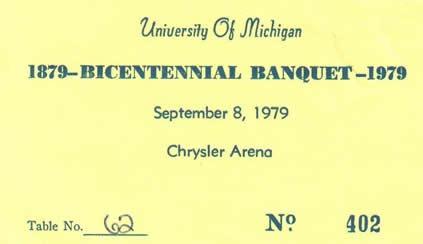 Chrysler Banquet