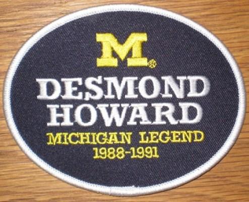 Desmond Howard #21 - Michigan Football Legends Patch