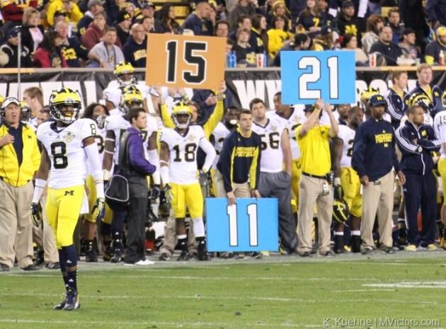 Michigan defensive signs ?