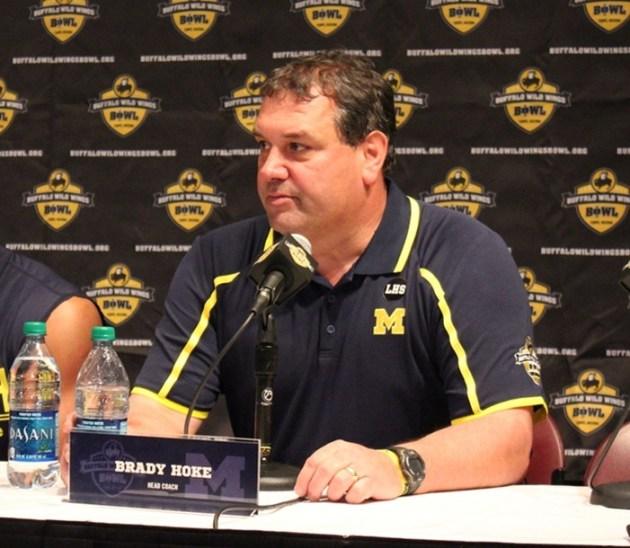 Brady Hoke press conference